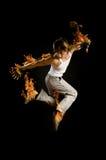 Danzas modernas Imagenes de archivo