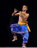 Danzas populares indias Imagen de archivo libre de regalías
