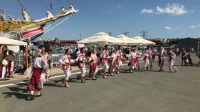 Danzas populares rumanas almacen de video