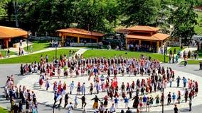 Danzas tradicionales búlgaras Foto de archivo libre de regalías