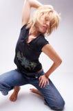 Danzatore Fotografia Stock Libera da Diritti