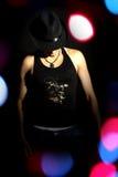 Danzatore alla moda Fotografie Stock