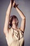 Danzatore appassionato di flamenco Fotografia Stock