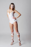Danzatore artistico Fotografia Stock Libera da Diritti