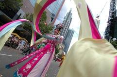 Danzatore cinese Fotografia Stock Libera da Diritti