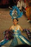 Danzatore dal Gateway a cielo (Indralogam) Immagini Stock