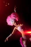 Danzatore del cabaret Fotografia Stock