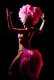 Danzatore del cabaret Fotografia Stock Libera da Diritti