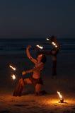 Danzatore del fuoco Fotografia Stock Libera da Diritti