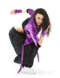 Danzatore del luppolo dell'anca Fotografie Stock Libere da Diritti