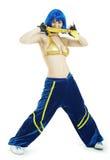 Danzatore del luppolo dell'anca Fotografia Stock