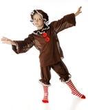 Danzatore del pan di zenzero Fotografia Stock