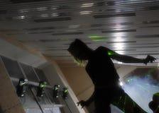 Danzatore del randello Fotografie Stock