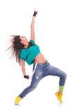 Danzatore della donna che grida Fotografia Stock Libera da Diritti