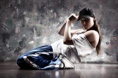 Danzatore della giovane donna Immagini Stock Libere da Diritti
