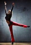 Danzatore della giovane donna Fotografia Stock Libera da Diritti