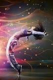 Danzatore della giovane donna Fotografie Stock