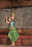 Danzatore di Apsara Fotografia Stock