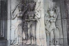 Danzatore di Apsara Fotografie Stock