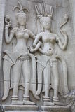 Danzatore di Apsara Immagini Stock