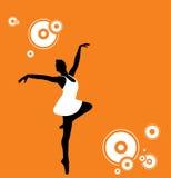 Danzatore di balletto illustrazione di stock