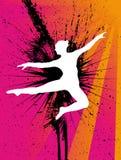 Danzatore di balletto illustrazione vettoriale