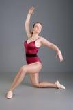 Danzatore di balletto della signora Fotografia Stock Libera da Diritti