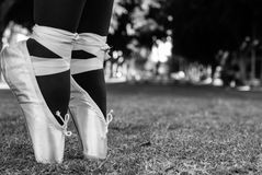Danzatore di balletto urbano Immagine Stock