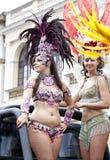 Danzatore di carnevale Fotografia Stock