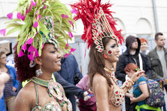 Danzatore di carnevale Fotografie Stock Libere da Diritti