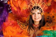 Danzatore di carnevale Immagini Stock