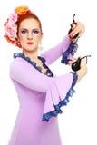 Danzatore di flamenco Immagini Stock