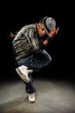 Danzatore di Hip Hop Fotografie Stock Libere da Diritti