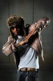 Danzatore di Hip Hop Fotografia Stock