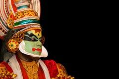 Danzatore di Kathakali Fotografia Stock Libera da Diritti