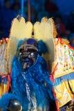 Danzatore di Moreno nel carnevale di Oruro in Bolivia Immagine Stock Libera da Diritti