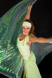 Danzatore di pancia Immagini Stock