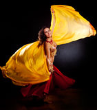 Danzatore di pancia Immagini Stock Libere da Diritti