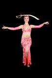 Danzatore di pancia Immagine Stock Libera da Diritti