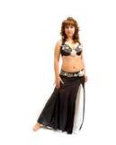 Danzatore di pancia esotico Fotografia Stock