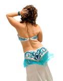 Danzatore di pancia esotico Immagine Stock