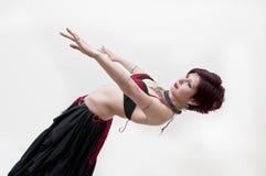 Danzatore di pancia tribale di Beautifu Immagini Stock Libere da Diritti