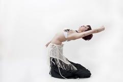 Danzatore di pancia tribale di Beautifu Fotografie Stock Libere da Diritti