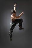 Danzatore di salto Immagini Stock Libere da Diritti