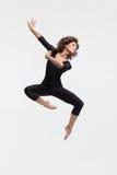 Danzatore di salto Fotografia Stock Libera da Diritti