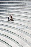 Danzatore di salto Fotografie Stock