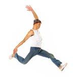 Danzatore di salto Fotografia Stock
