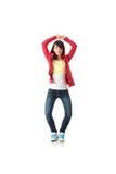 Danzatore di schiocco dei giovani Immagini Stock Libere da Diritti