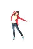 Danzatore di schiocco dei giovani Fotografia Stock Libera da Diritti