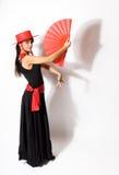 Danzatore diritto Fotografia Stock Libera da Diritti